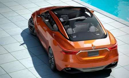 Nissan Sport Sedan Concept Detroit NAIAS 2014