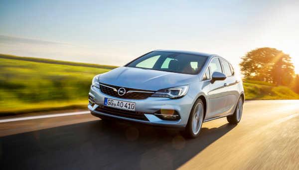 Opel Astra Facelift (2019) Fünftürer
