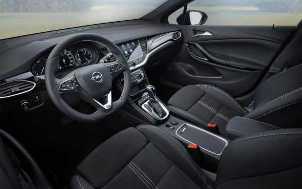 Opel Astra Facelift (2019) Cockpit