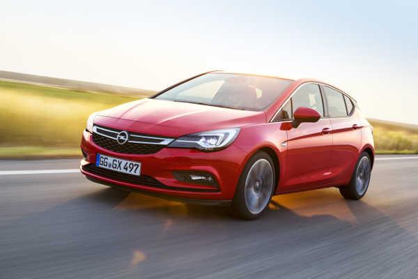 Opel Astra Active Sondermodell 2018