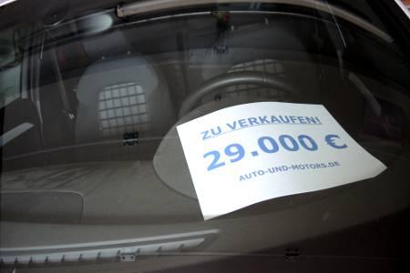 Autoverkauf Gebrauchtwagen