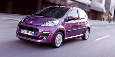 Peugeot 107 Facelift 2013