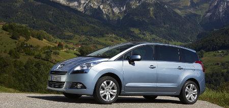 Peugeot 5008 Modelljahr 2012