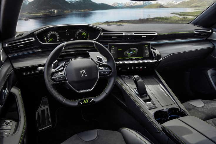 Peugeot 508 PSE Cockpit