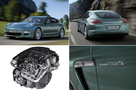 Porsche Panamera V6 Diesel