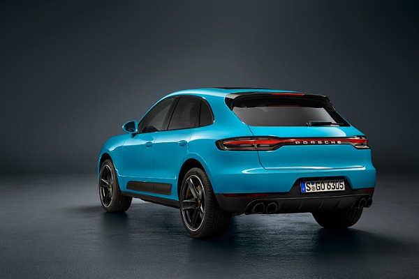 Porsche Macan 2019 Heckansicht