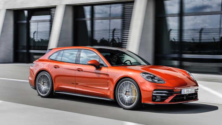 Porsche Panamera 2020 Facelift