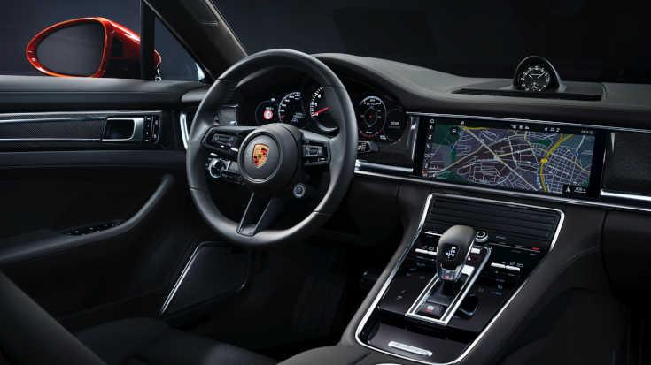 Porsche Panamera 2020 Facelift Cockpit
