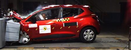 Renault Clio 2012 Euro NCAP Crashtest