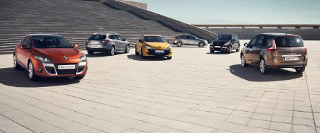 Renault Megane III und Renault Scenic