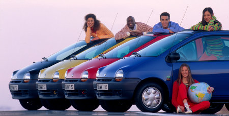 Renault Twingo I Benetton