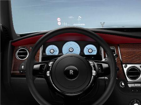 Rolls-Royce Ghost Facelift 2014