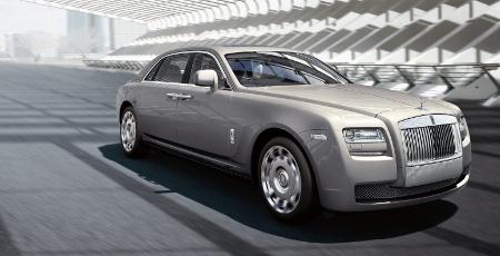 Rolls-Royce Ghost als Langversion