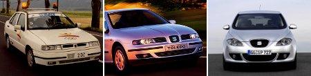 Seat Toledo Generation I, II und III