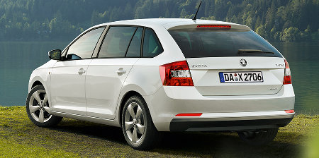 Skoda Rapid Spaceback Green-Line