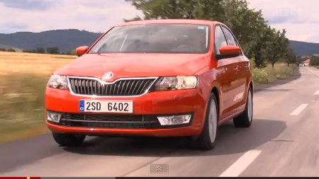 Skoda Rapid im Video