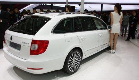 Skoda Superb Modellpflege 2013