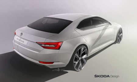 Skoda Superb III 2015