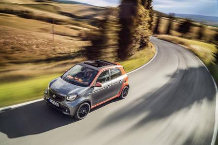 smart forfour II 2014