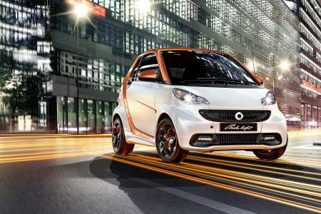 smart fortwo flashlight edition