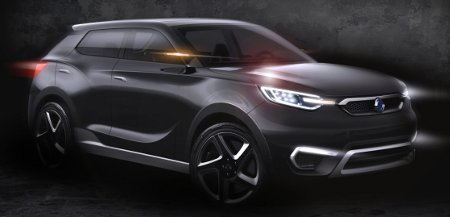 SsangYong SIV-1 Genf 2013