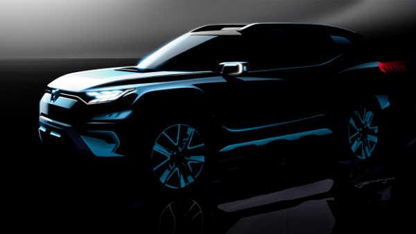 SsangYong XAVL Concept 2017 Genfer Autosalon
