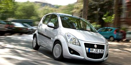 Suzuki Splash active+