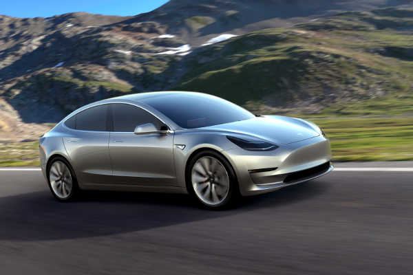 Tesla Model 3 Prototyp 2016