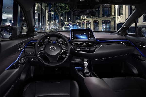 Toyota C-HR Innenraumdesign 2016