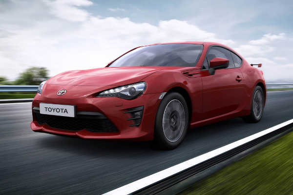 Toyota GT86 Facelift 2016