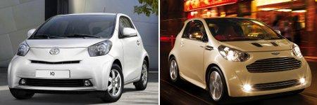 Toyota iQ & Aston Martin Cygnet