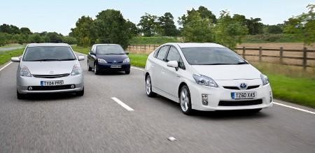Toyota Prius I, II und III