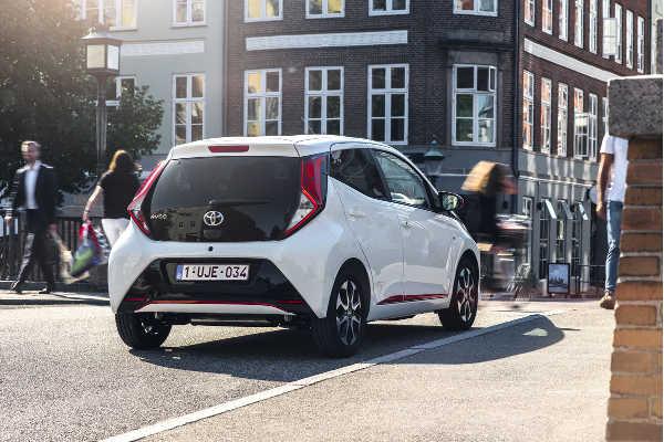 Toyota Aygo 2018 Heckansicht