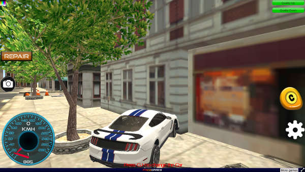 Online-Rennspiele Top Speed Muscle Car