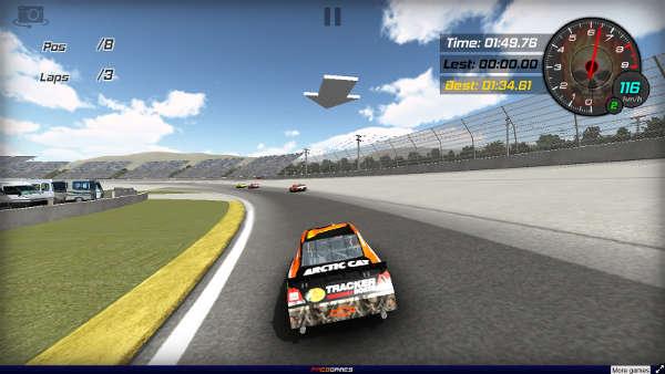 Online-Rennspiele Nascar Racing