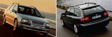 Volvo V40 Modelljahr 2001 und 2003