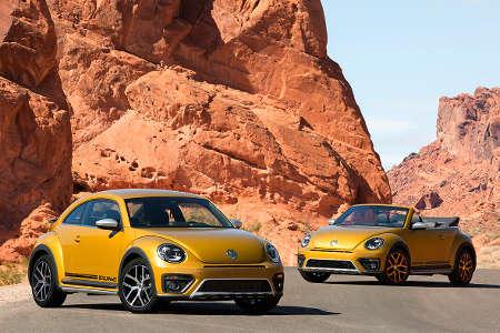 VW Beetle Dune Coupé & Beetle Dune Cabrio