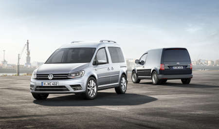 VW Caddy 2015
