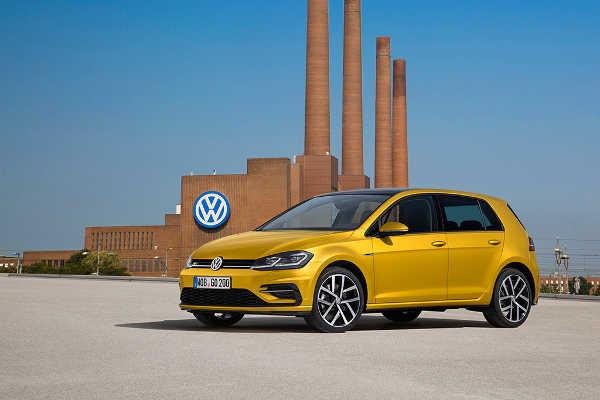 VW Golf 2017 Facelift