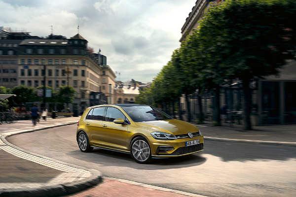 VW Golf Facelift 2017