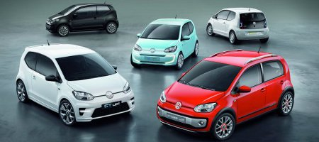 New Small Family: VW Up