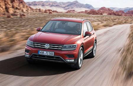 VW Tiguan II 2015