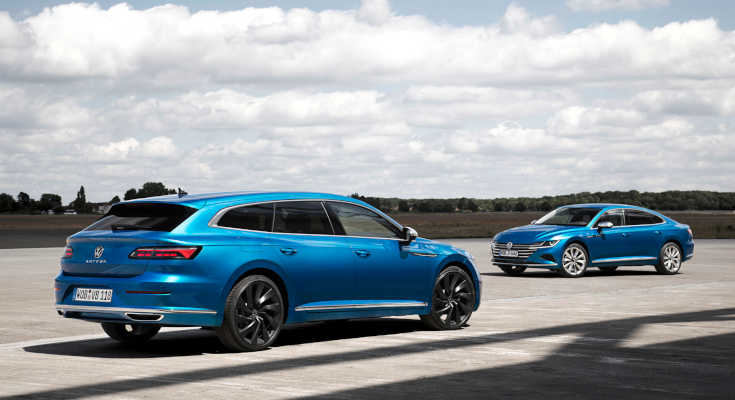 VW Arteon 2020 Facelift Fastback und Shooting Brake